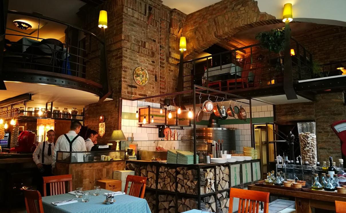 מסעדה איטלקית אותנטית בבודפשט