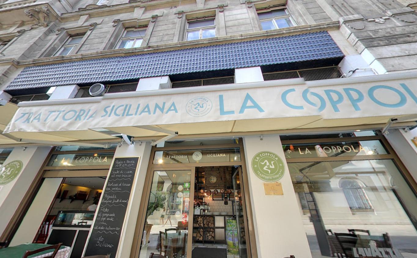 מסעדה איטלקית סיציליאנית בבודפשט