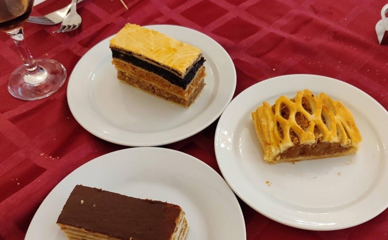 קינוח במסעדת חנה - מסעדה בשרית כשרה ברובע היהודי של בודפשט