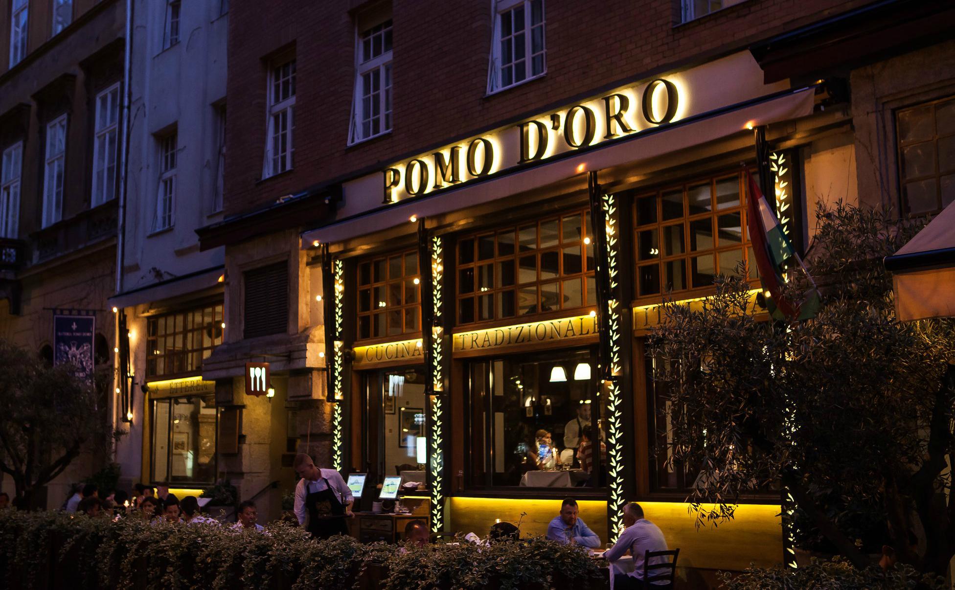 מסעדה איטלקית בודפשט מסעדת פומודורו