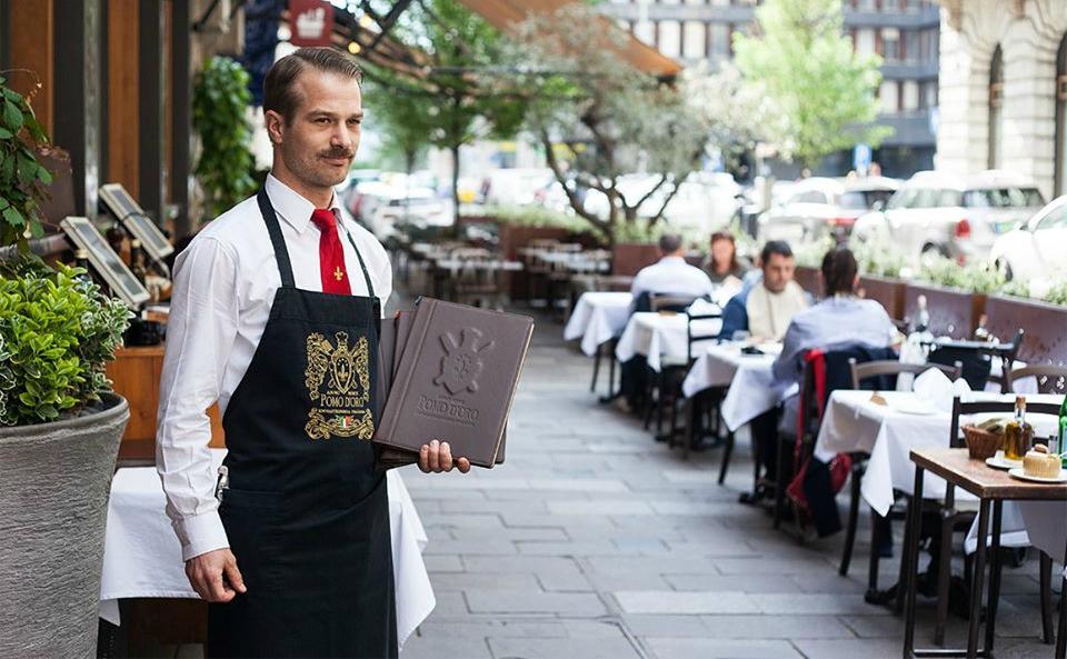 מסעדה איטלקית בודפשט הונגריה מסעדת פומודורו