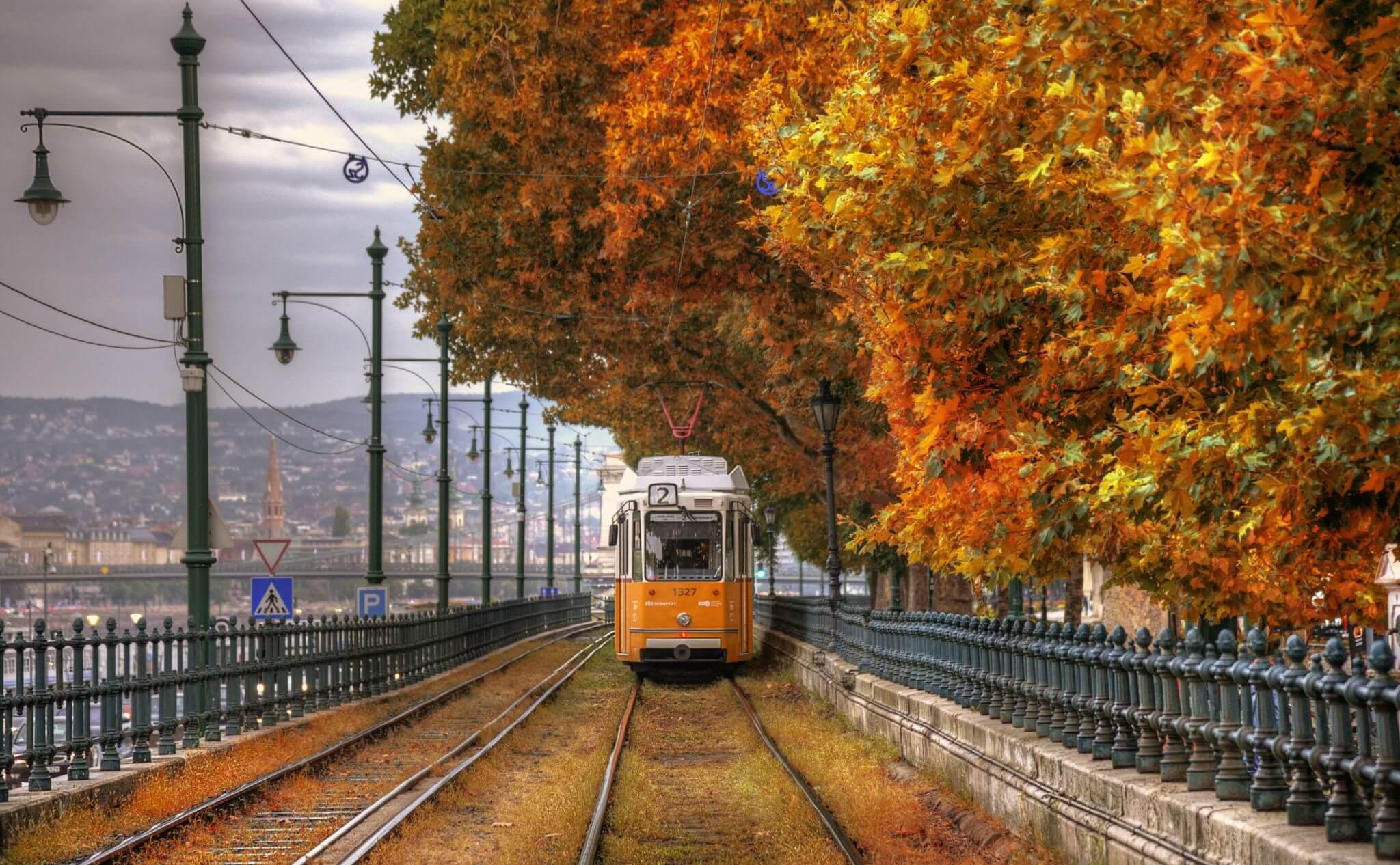 בודפשט באוקטובר בעונת הסתיו
