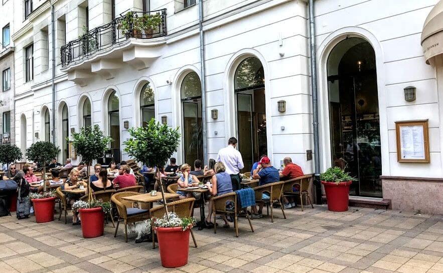 Borze Budapest מסעדת בורזה בודפשט ארוחת בוקר