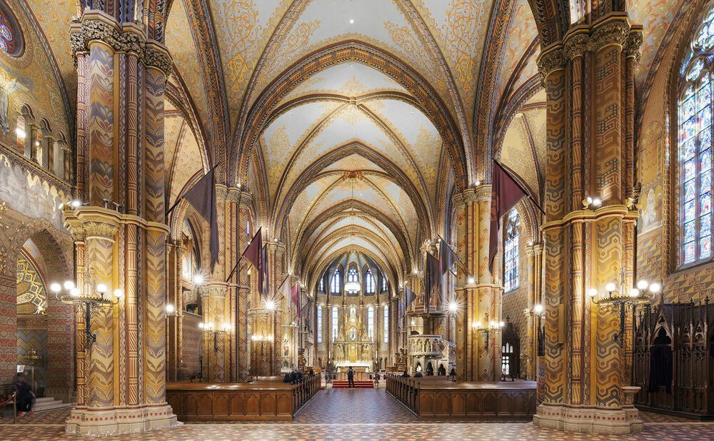 Matthias Church Budapest כנסיית מטיאס בודפשט