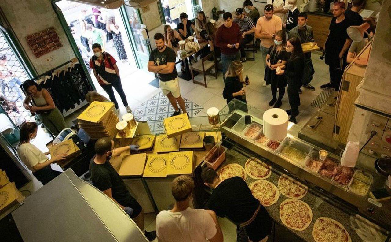 Pizza Manufaktura פיצריות בבודפשט
