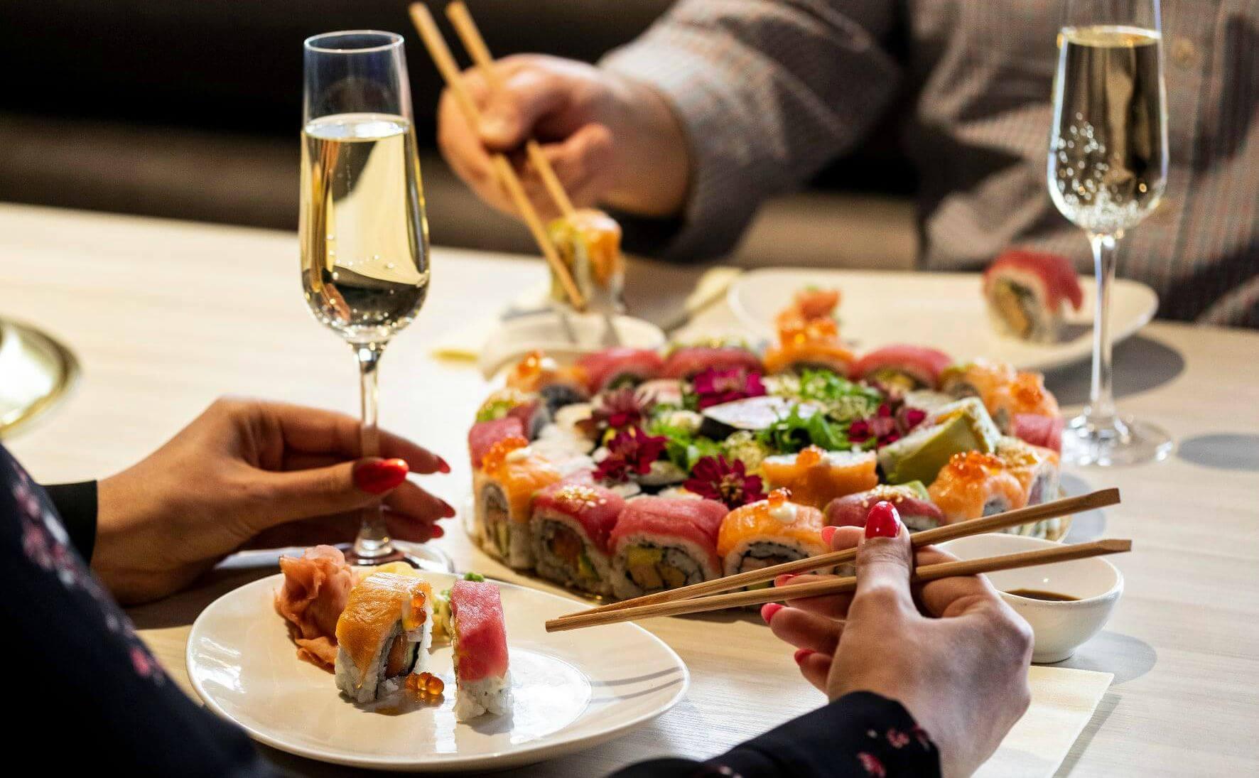 Yamato Japanese Restaurant Budapest סושי בבודפשט מסעדשת ימאטו