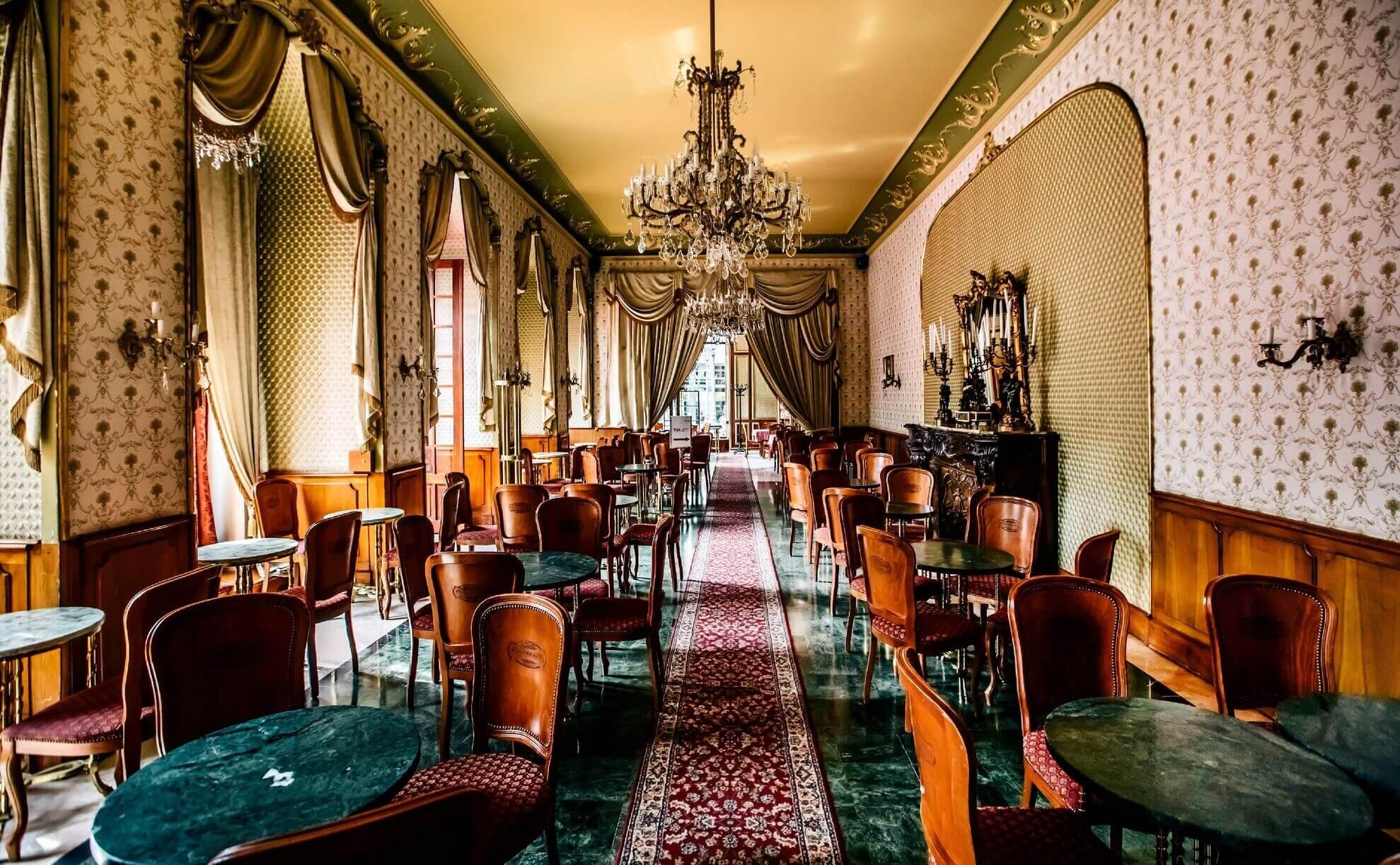 בית קפה ג'רבו בבודפשט הונגריה