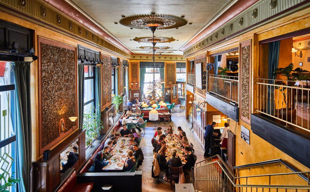 בתי קפה בבודפשט הונגריה בית קפה סנטרל