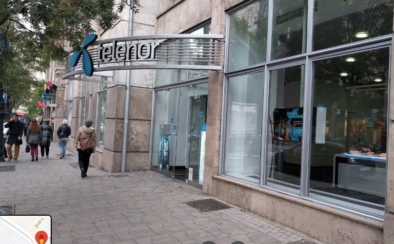 חברת טלנור כרטיס סים מקומי וחבילת גלישה בבודפשט - סניף אסטוריה