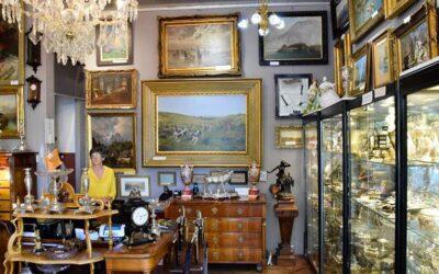 חנויות עתיקות וגלריות