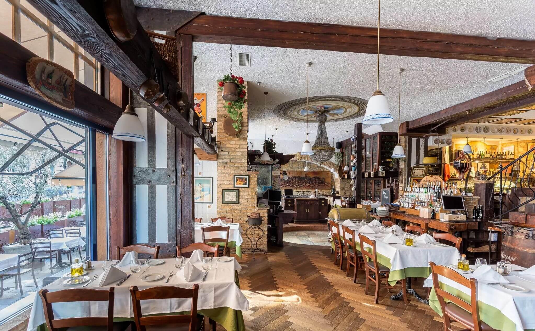 מסעדות איטלקיות בבודפשט מסעדת פומודורו