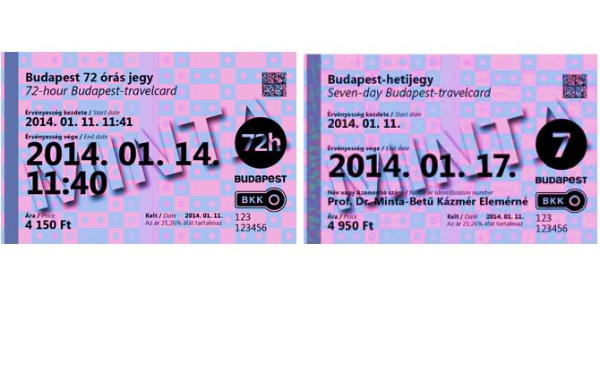 סוגי כרטיסים מנויים חופשיים תחבורה ציבורית בבודפשט
