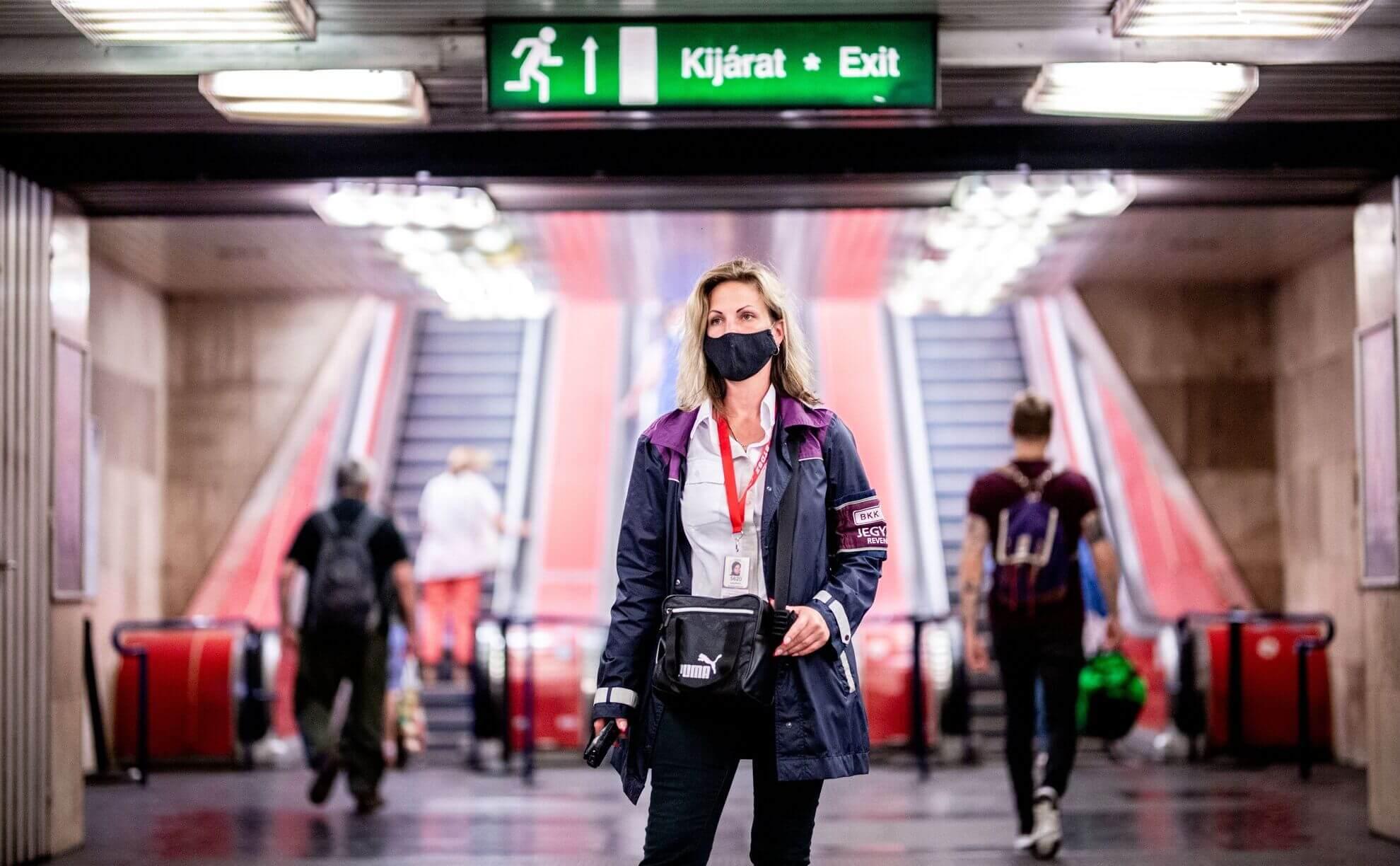 פקחי תחבורה ציבורית בבודפשט