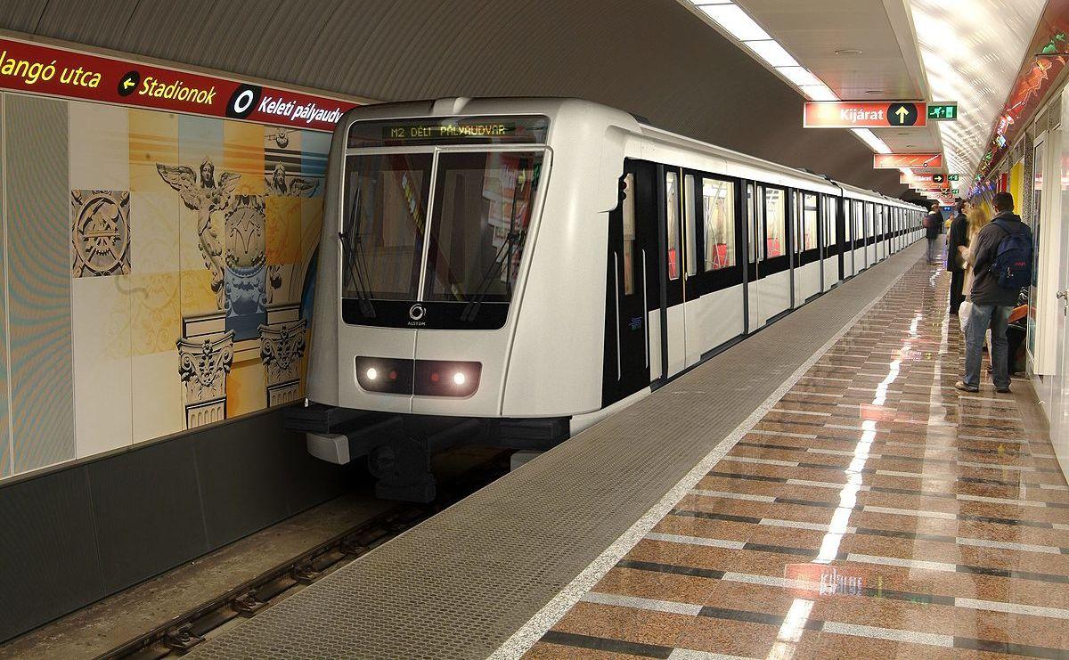 תחבורה ציבורית בבודפשט המטרו האדום קו מס 2