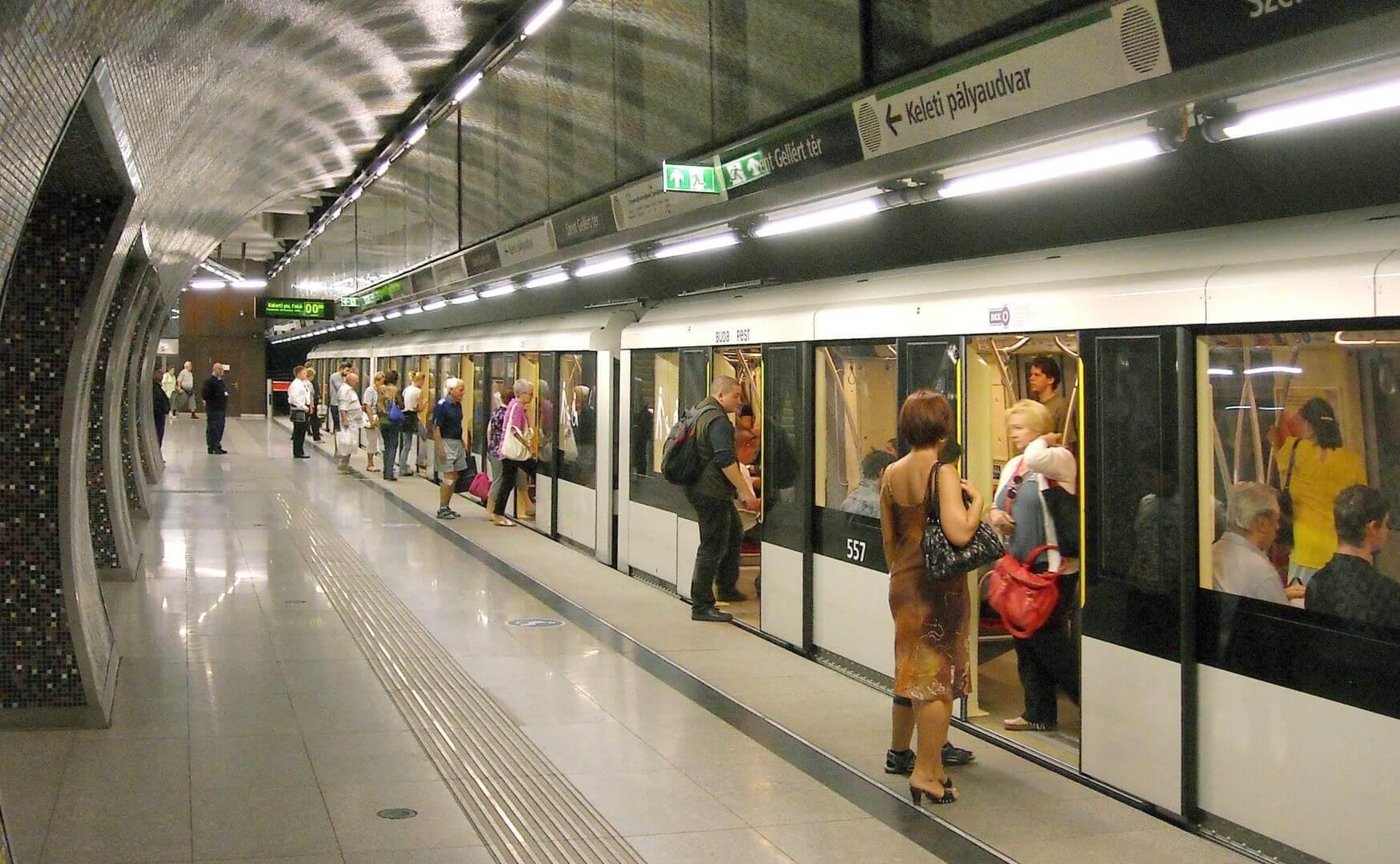 תחבורה ציבורית בבודפשט המטרו החדש קו מס. 4