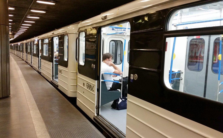 תחבורה ציבורית בבודפשט המטרו הכחול קו מס. 3