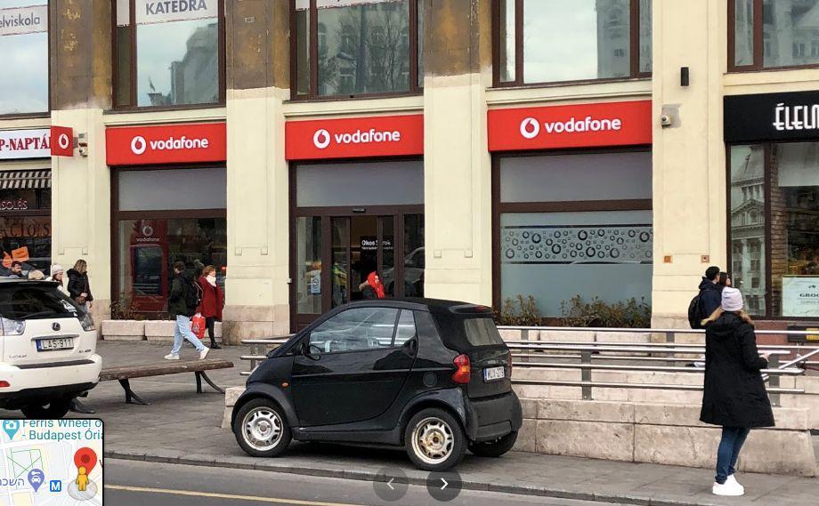 Vodafone Deak Ferenc Ter - וודאפון סניף דיאק כרטיס סים בבודפשט