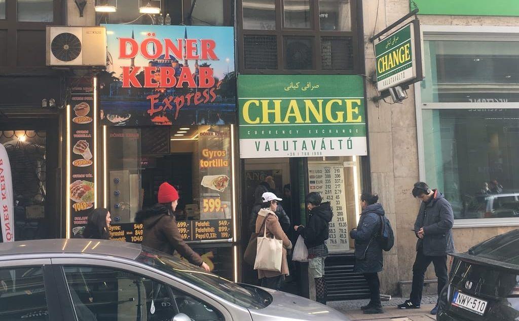 money exchange kiraly street budapest הצ'יינג' האיראני המרת כספים בבודפשט