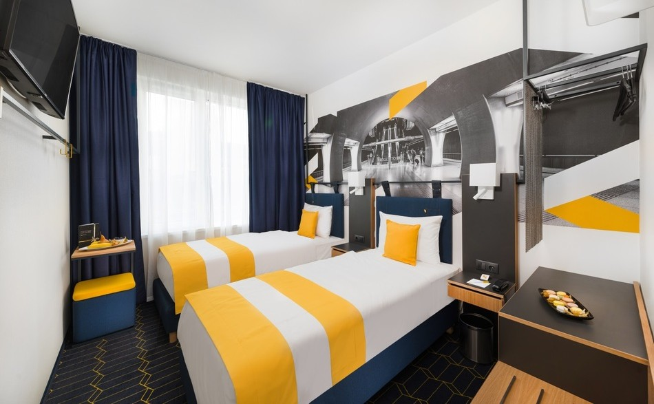D8 Hotel Budapest מלון מרכזי בלב העיר בבודפשט