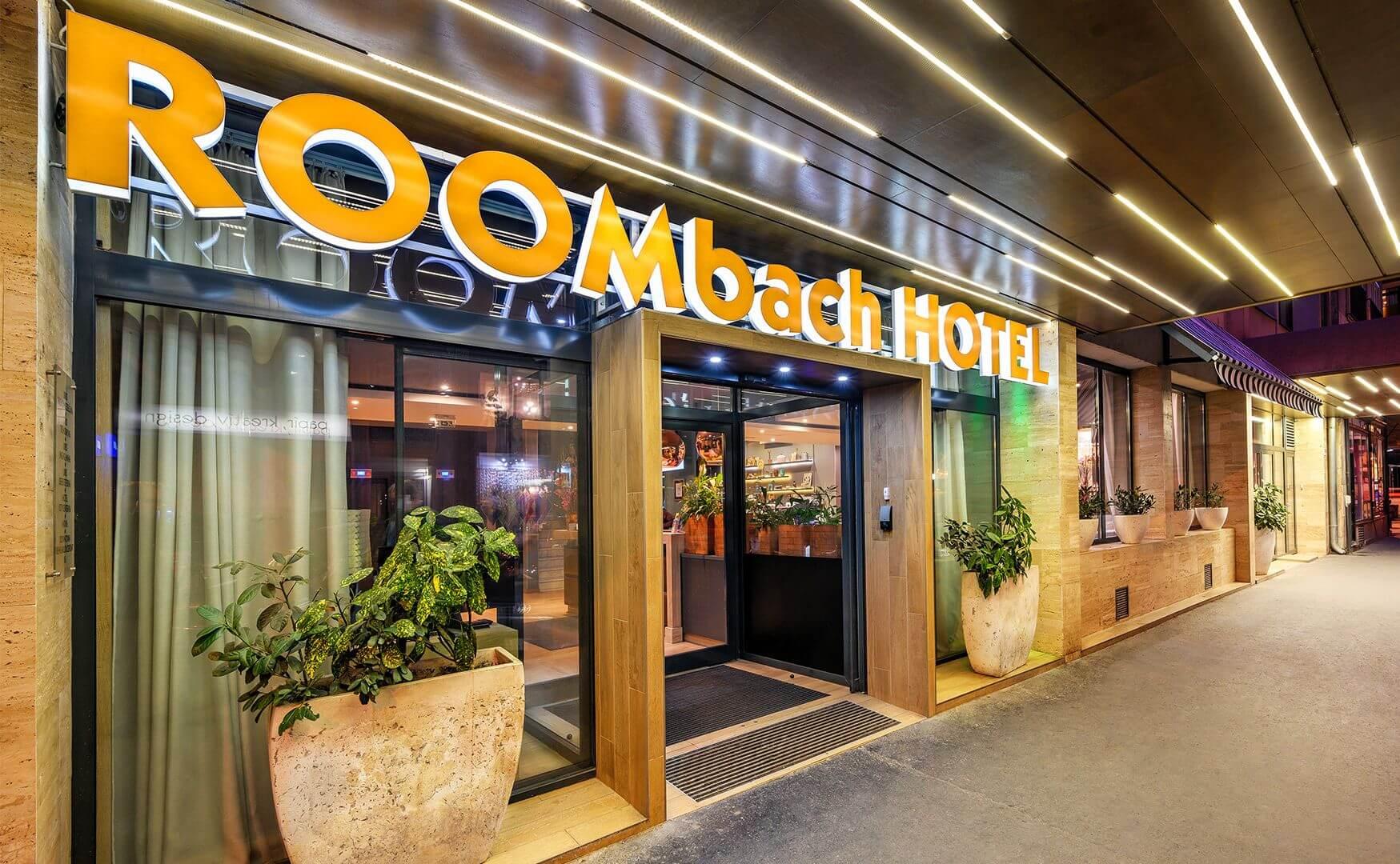 Roombach Hotel Budapest בית מלון 3 כוכבים בבודפשט