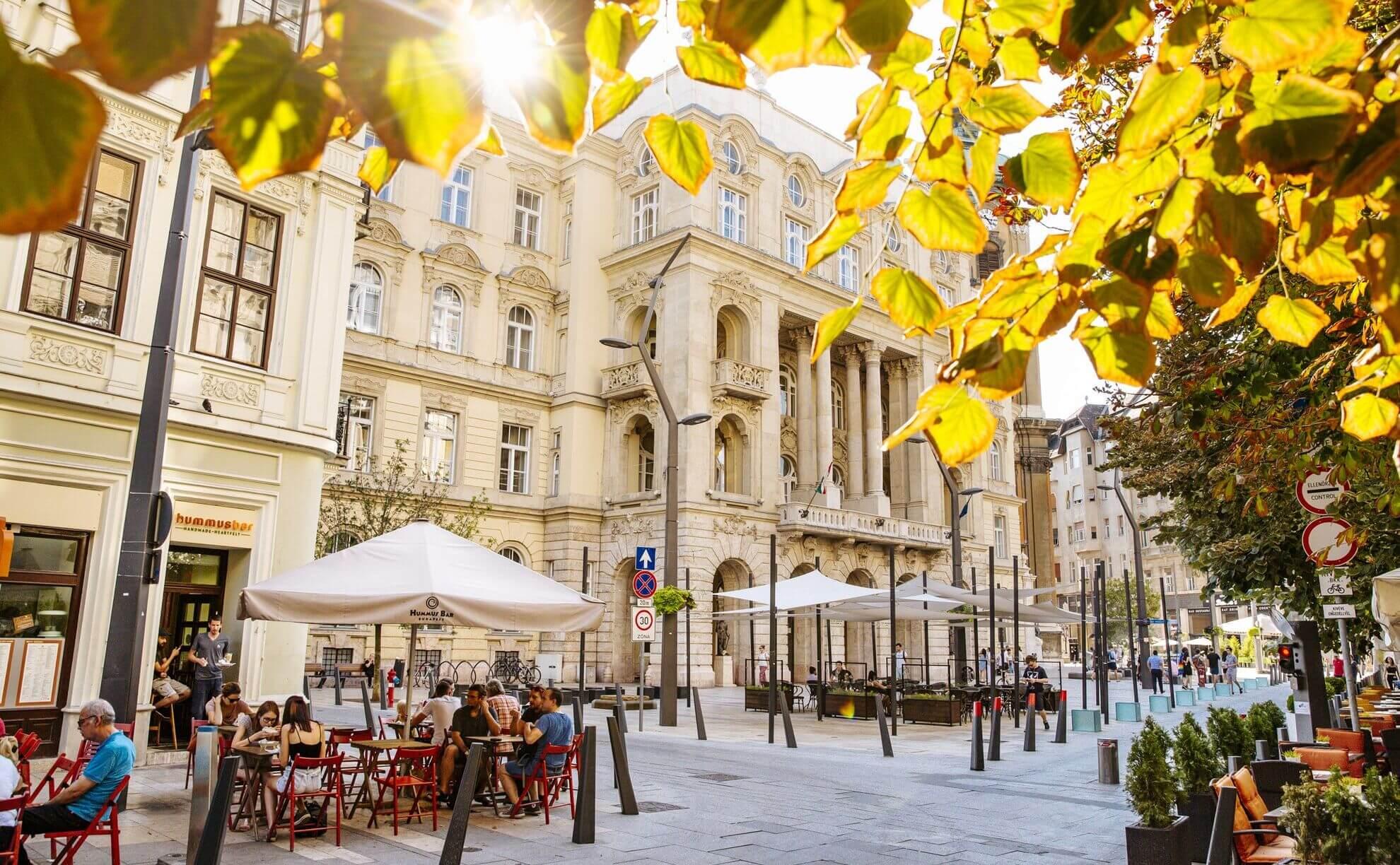 בודפשט בסתיו מזג אוויר בבודפשט