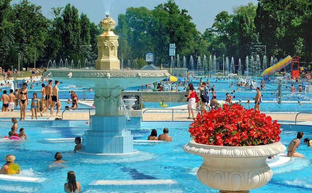 מרחצאות ופארק המים פאלאטינוס בבודפשט אטרקציות לילדים