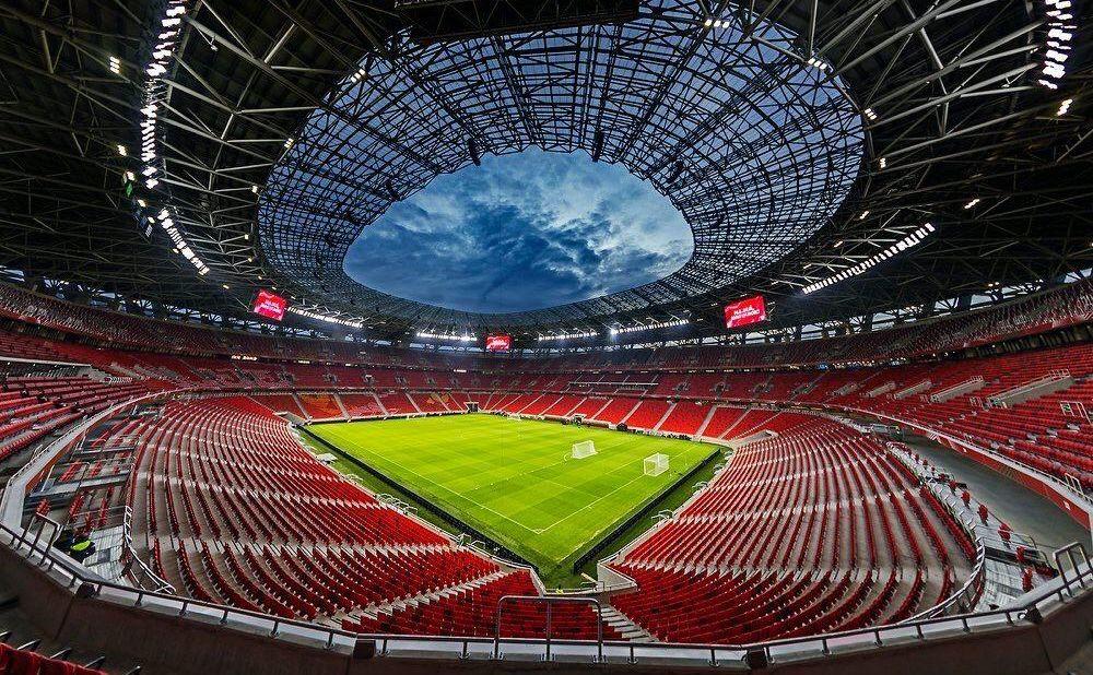 Puskas Arena פושקאש ארנה בודפשט יורו 2020