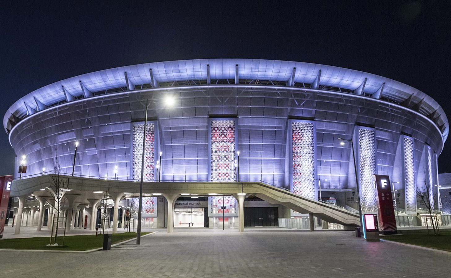 Puskas Ferenc Arena Budapest Euro 2020 יורו